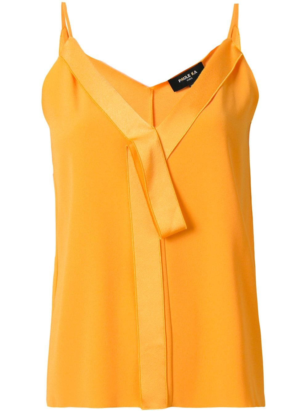 V-neck bow detail camisole