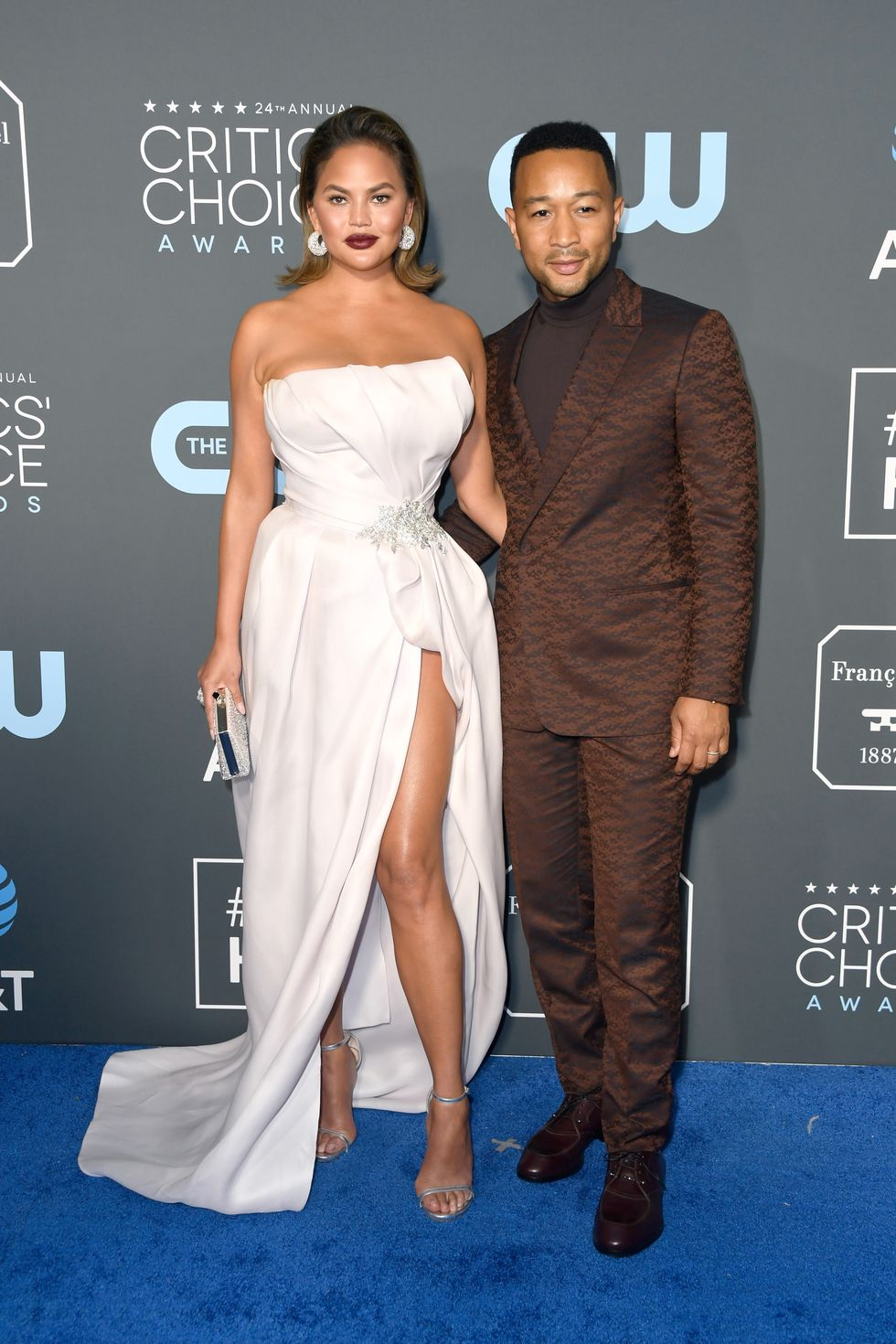chrissy teigen in maison yeya