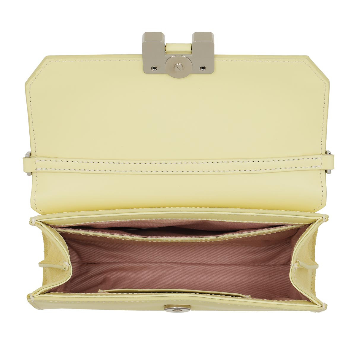 Amal Handle Bag Lemon Glaze/Silver