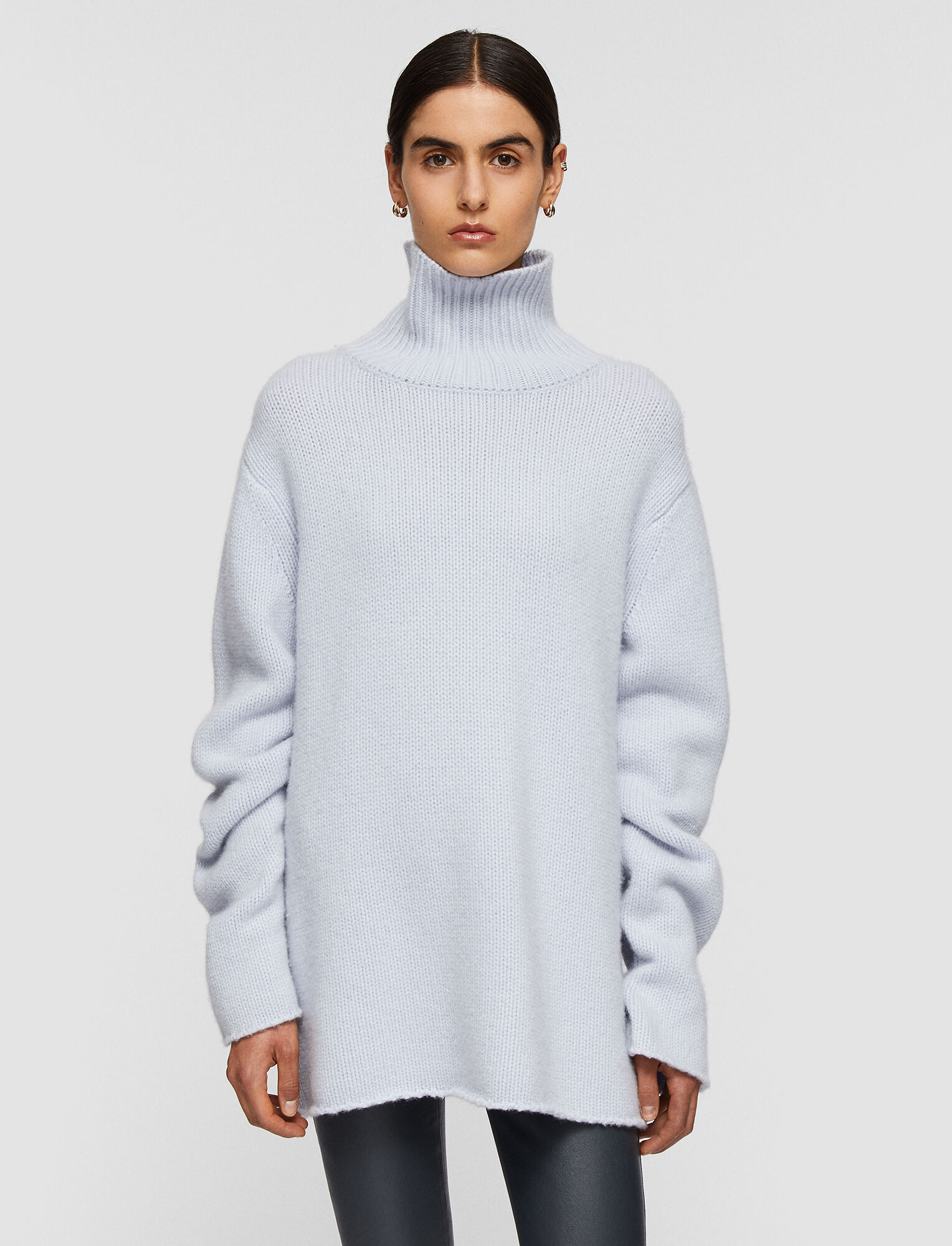 Luxe Cashmere High Neck Jumper by JOSEPH FASHION