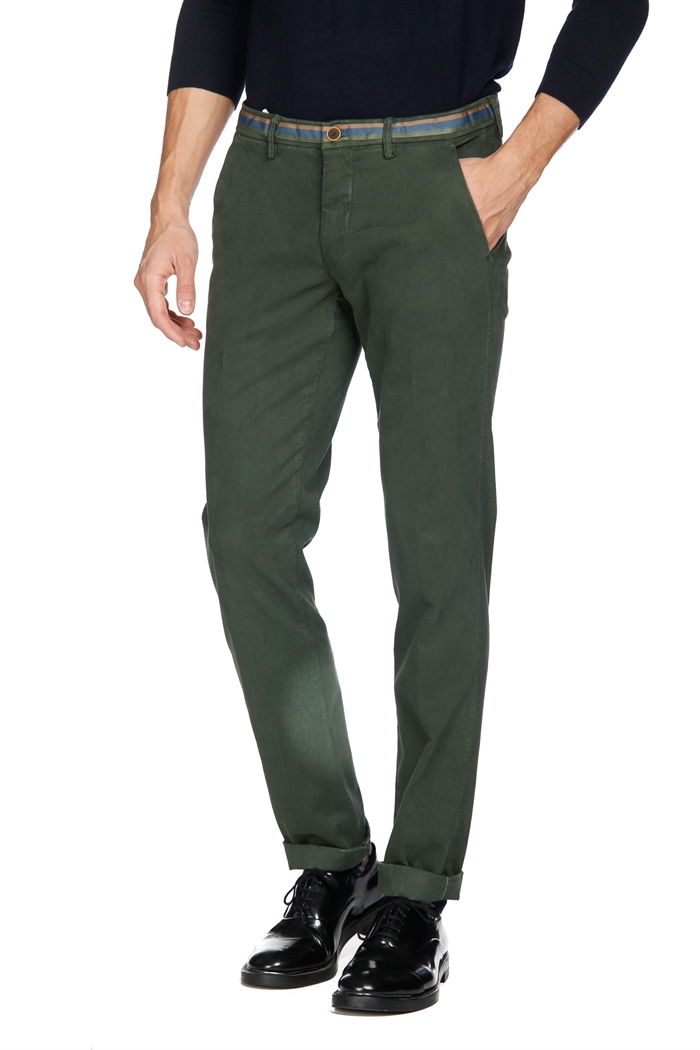 Mason's Man Chino Pants Model Torino Winter, stretch gabardine with modal