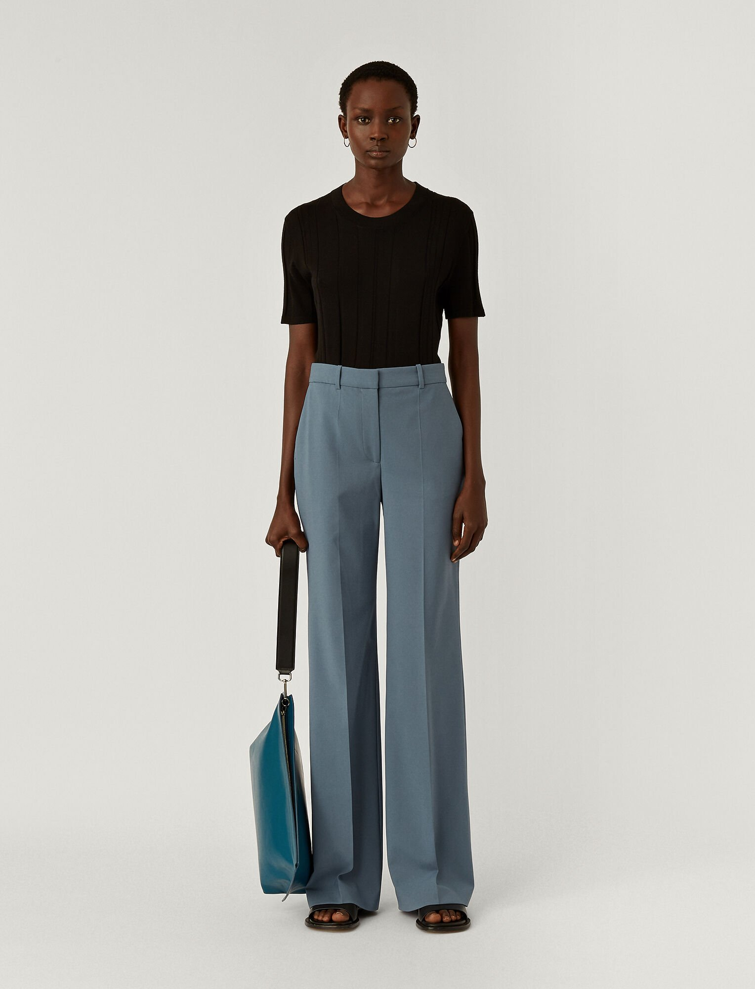 Light Wool Suiting Morissey Trousers