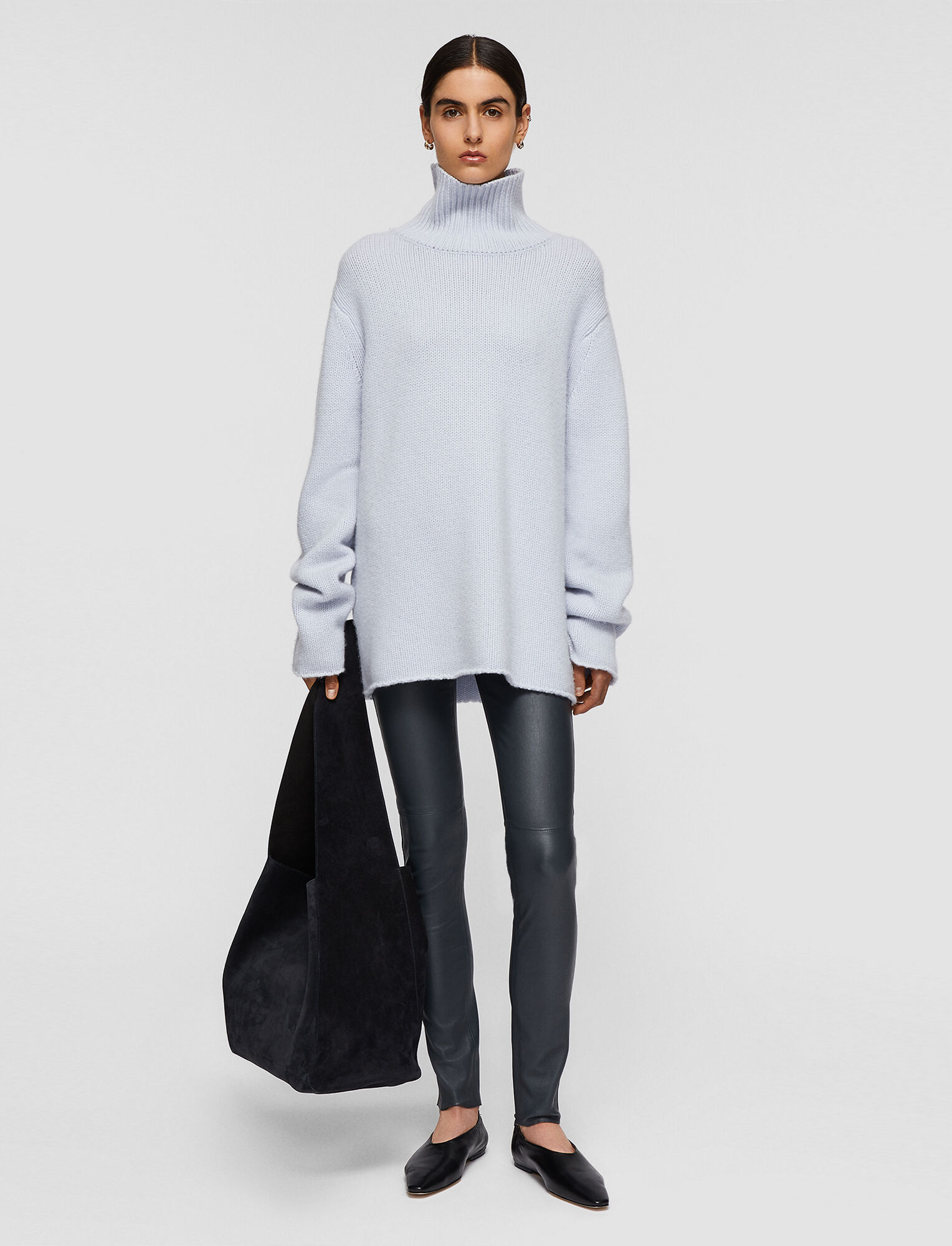 Luxe Cashmere High Neck Jumper