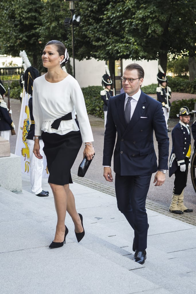 Crown Princess Victoria in Paule Ka DRESS