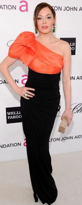 rose mcgowan was seen wearing paule ka dress