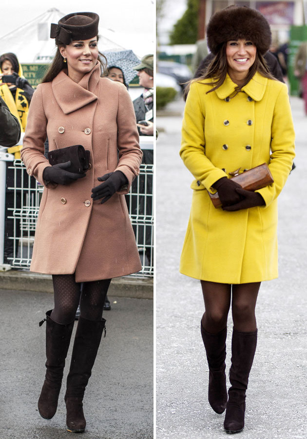 Kate vs Pipa JOSEPH COAT